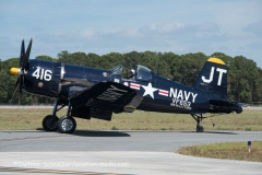 2016-03-11 N713JT Vought F4 Corsair