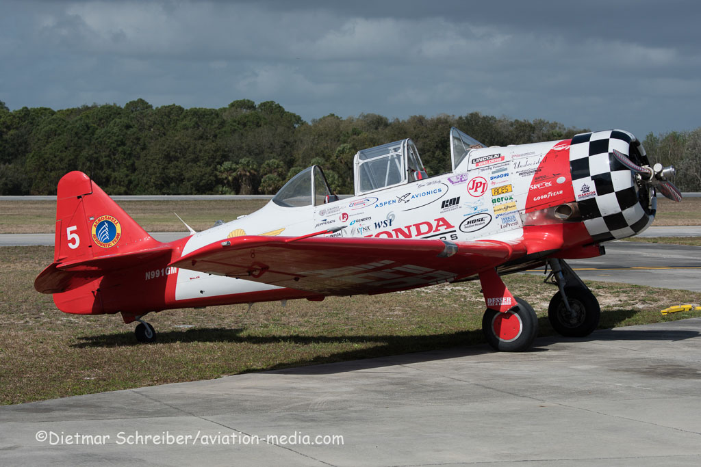 2016-03-10 N991GM North American T6 Texan