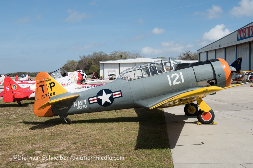 2016-03-10 N4588V North American T6 Texan