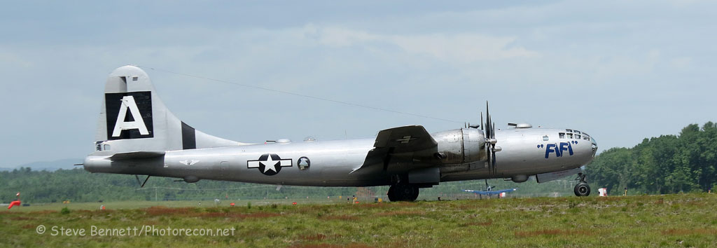 1945 B-29 Superfortress, FIFI, NX529B, in Nashua (7319)