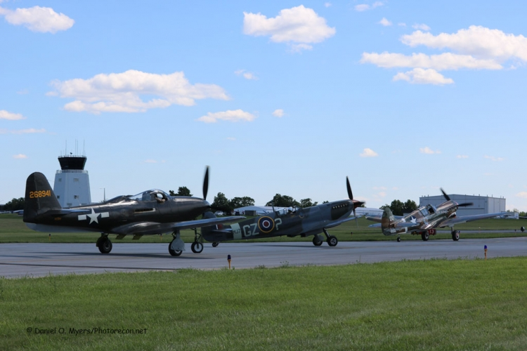 P-63,P-51 and P-40 Flight Taxi