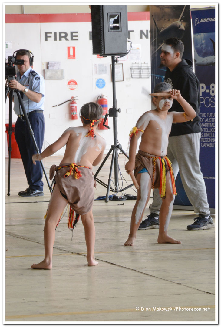Indigenous welcome to country ceremony